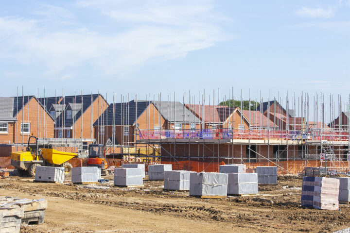 New Homes Building Site